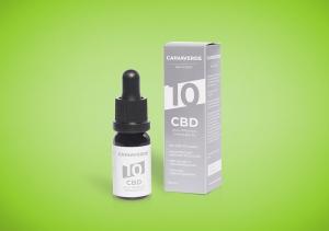 CANNAVERDE 10% Cannabis CBD Öl Tropfen