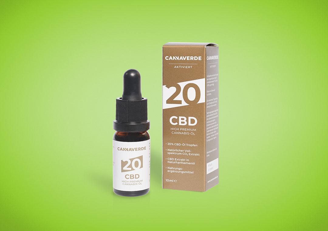 CBD High Premium Bio Hanföl 20%